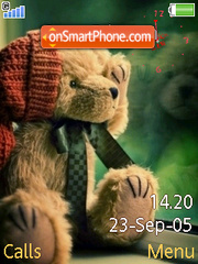 Swf Bear Clock Flash es el tema de pantalla