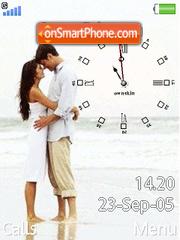 Swf Love Clock es el tema de pantalla