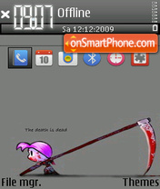 Death 05 theme screenshot
