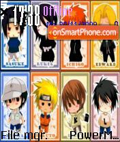 Chibi Chibi theme screenshot