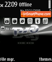 RZHD theme screenshot