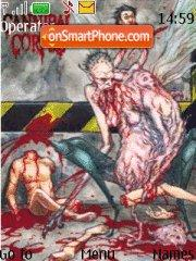 Cannibal corpse 1 es el tema de pantalla