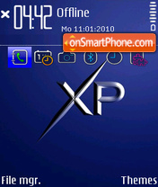 Windows xp strict theme screenshot