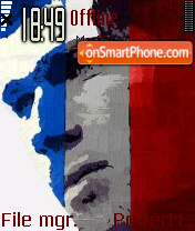 Zidane 03 es el tema de pantalla