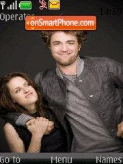 Robert Pattinson and Kristen Stewart theme screenshot