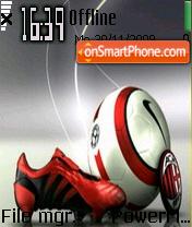 Ac Milan 15 theme screenshot