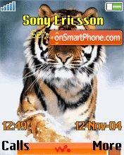 Walkman Tiger es el tema de pantalla