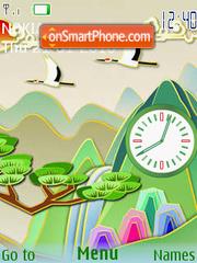 Iz Podnebesnoy theme screenshot