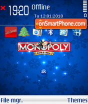 Monopoly Here Now theme screenshot