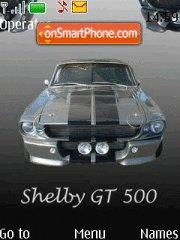 Shelby mustang 1967 theme screenshot