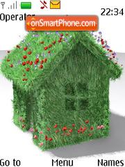 Green House theme screenshot