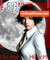 Lady Maria theme screenshot