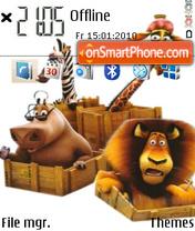 Madagascar 03 theme screenshot