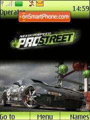 Need For Speed Pro Street tema screenshot