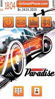 Burnout paradise 03 es el tema de pantalla