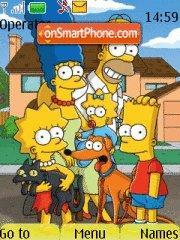 The Simpsons Ricis theme screenshot