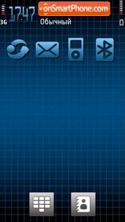 Technoblu 5th theme screenshot