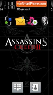 Assassins Creed Black Edition theme screenshot