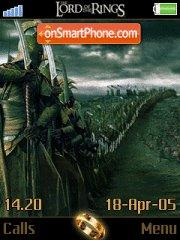 Lord Of The Ring es el tema de pantalla