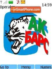 Ak bars 02 theme screenshot