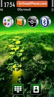 Black & Green es el tema de pantalla