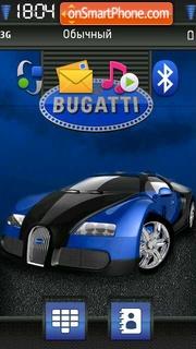 Bugatti 10 theme screenshot