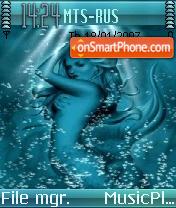 Mermaid es el tema de pantalla