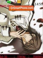 Kuran Kaname (Vampire Knight) theme screenshot