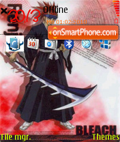 Renji theme screenshot