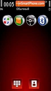 Red abstrakt 02 es el tema de pantalla