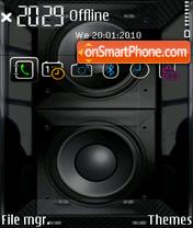 Subsonic FP1 yI theme screenshot