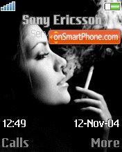 Girl smokes es el tema de pantalla