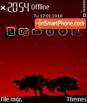 Celestial RED FP1 SI es el tema de pantalla