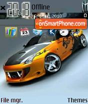 Race Car es el tema de pantalla