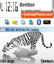 Striped theme screenshot