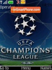 UEFA Champions Ligue theme screenshot