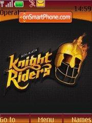 Kolkata Knight Rider 01 es el tema de pantalla
