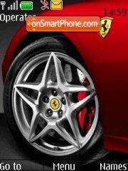Ferrari Wheel 01 theme screenshot