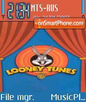 Looney Tunes theme screenshot