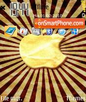 Apple Ray theme screenshot