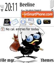 Calimero 73 theme screenshot