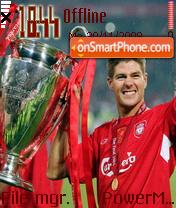 Liverpool Fc 05 theme screenshot