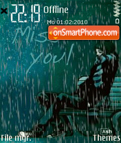 Miss You 04 theme screenshot