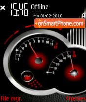 Speedo Animated theme screenshot