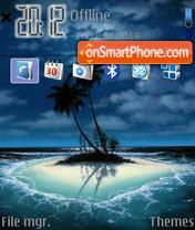 Island 07 es el tema de pantalla