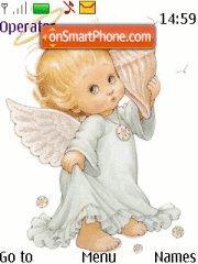 Angel Love theme screenshot