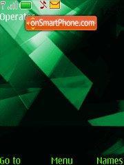 Xpress music green theme screenshot