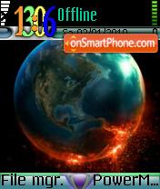 Earth 84 es el tema de pantalla