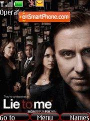Lie to me es el tema de pantalla