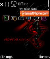 Fire dragon FP1 es el tema de pantalla
